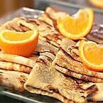 Crêpe hyperprotéinée Orange