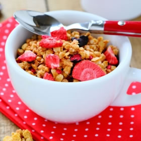 Cereales Hiperproteicos Frutos Rojos - Céréales Fruits Rouges