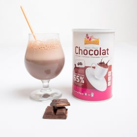 Pot 15 Boissons Hyperprotéinées Chocolat  Intense