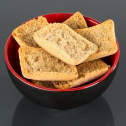 Petits pains protéinés croquants