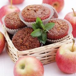 Lot de 30 cakes hyperprotéinés Pomme Cannelle