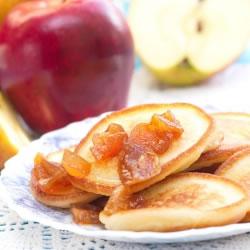 Crêpe hyperprotéinée Pomme