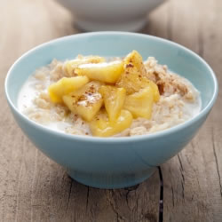 Porridge hyperprotéiné saveur Pomme Noisette