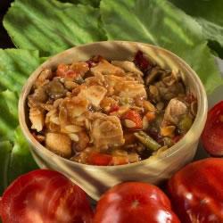 Salade de poulet Hyperprotéinée