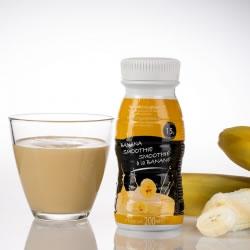 Bouteille smoothie hyperprotéiné 200ml UHT banane