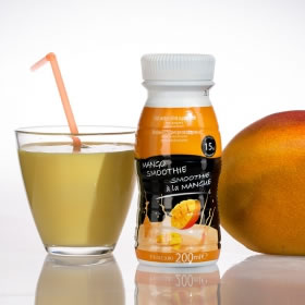 Botella Hiperproteica Smoothie UHT 200 ml Mango