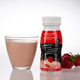 Smoothie UHT 200 ml fraise
