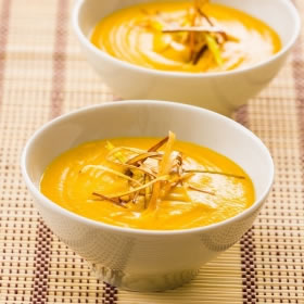 Sopa Proteica con Curry - Soupe au Curry