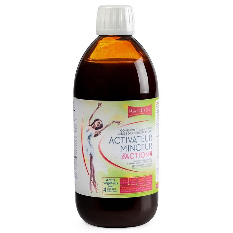 Draineur bruleur activateur minceur mincid lice action 4 for Action minceur