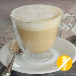 SANS GLUTEN Boisson hyperprotéinée café latté