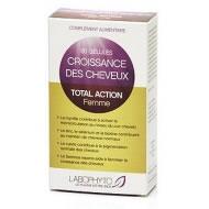 Croissance des cheveux Total Action Femme 60 gélules Complément Alimentaire