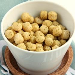 Boules de soja soufflées protéinées ail et persil