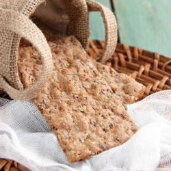 Biscoitos com sementes completas