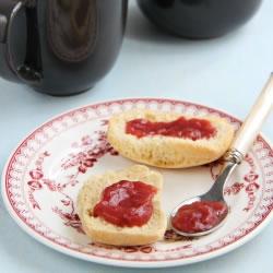 Gelée de fraise pour régime hyperproteiné