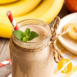 SANS GLUTEN Milk-shake Hyperprotéiné saveur Banane