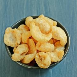 Biscuits apéritifs protéinés croustillants Porc Crunch