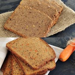 Offre découverte DUO pain carotte et pain au noix