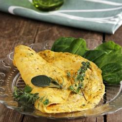 Omelette hyperprotéinée aux herbes de provence SG