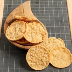 Chips protéinées soufflées saveur jambon fumé