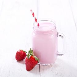 Substitut repas milk-shake fraise