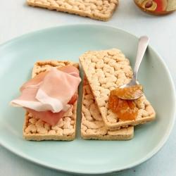 Toasts croustillants hyperprotéinés vegan et sans gluten