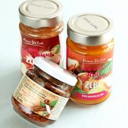 Lot découverte 3 pots Pommes, Abricots - Poires et Chocolat DLUO 11/18
