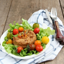 Salade de thon hyperprotéinée à la méditerranéenne