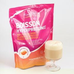 Boisson hyperprotéinée caramel maxi sachet 450g 18 portions