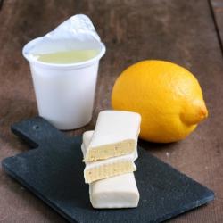 SANS GLUTEN Substitut de repas barre citron et chocolat blanc