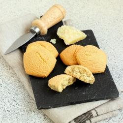 Biscuits hyperprotéiné salés goût fromage italien