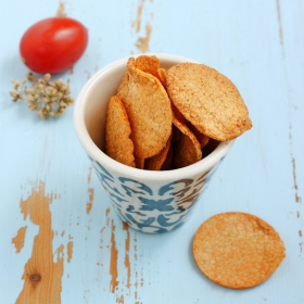 Chips proteicas sabor tomate oregano - Chips tomate origan