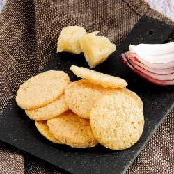 SANS GLUTEN Chips Soufflées riches en protéines arôme fromage et oignon