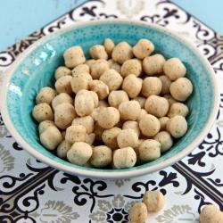 Boules de soja soufflées protéinées arôme crème oignon