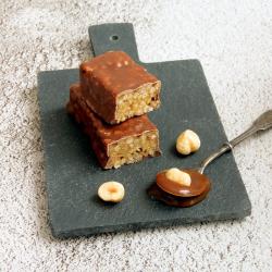Substitut de repas barre Caramel croustillant chocolat au lait SG