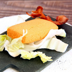 Cake salé hyperprotéiné saveur Bacon 40g