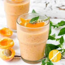 Entremets mousse boisson abricot hyperprotéiné SG