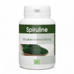Spiruline dosée à 250 mg 200 gélules Complément Alimentaire