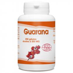 Guarana 200 gélules de 300 mg Complément Alimentaire