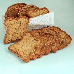 Grand pain hyperprotéiné aux graines de Sésame 365g