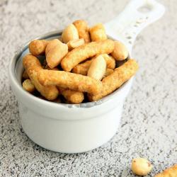 Snack hyperprotéiné Curvy soufflés à la cacahuète