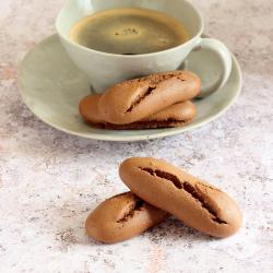 Biscuits protéinés secs au chocolat