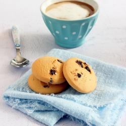 Mini cookies hyperprotéinés vanille pépites de chocolat