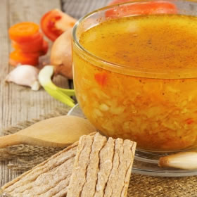 Sopa Minestrone Hiperproteica - Soupe Minestrone