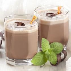 Boisson hyperprotéinée cacao noisette stévia