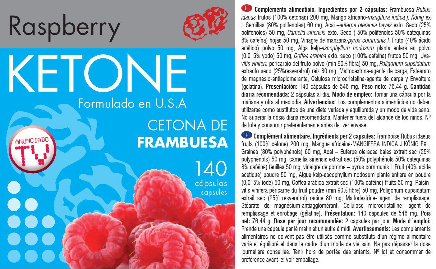 rapsberry ketone c tone de framboise 140 g lules pour traitement minceur et diete. Black Bedroom Furniture Sets. Home Design Ideas